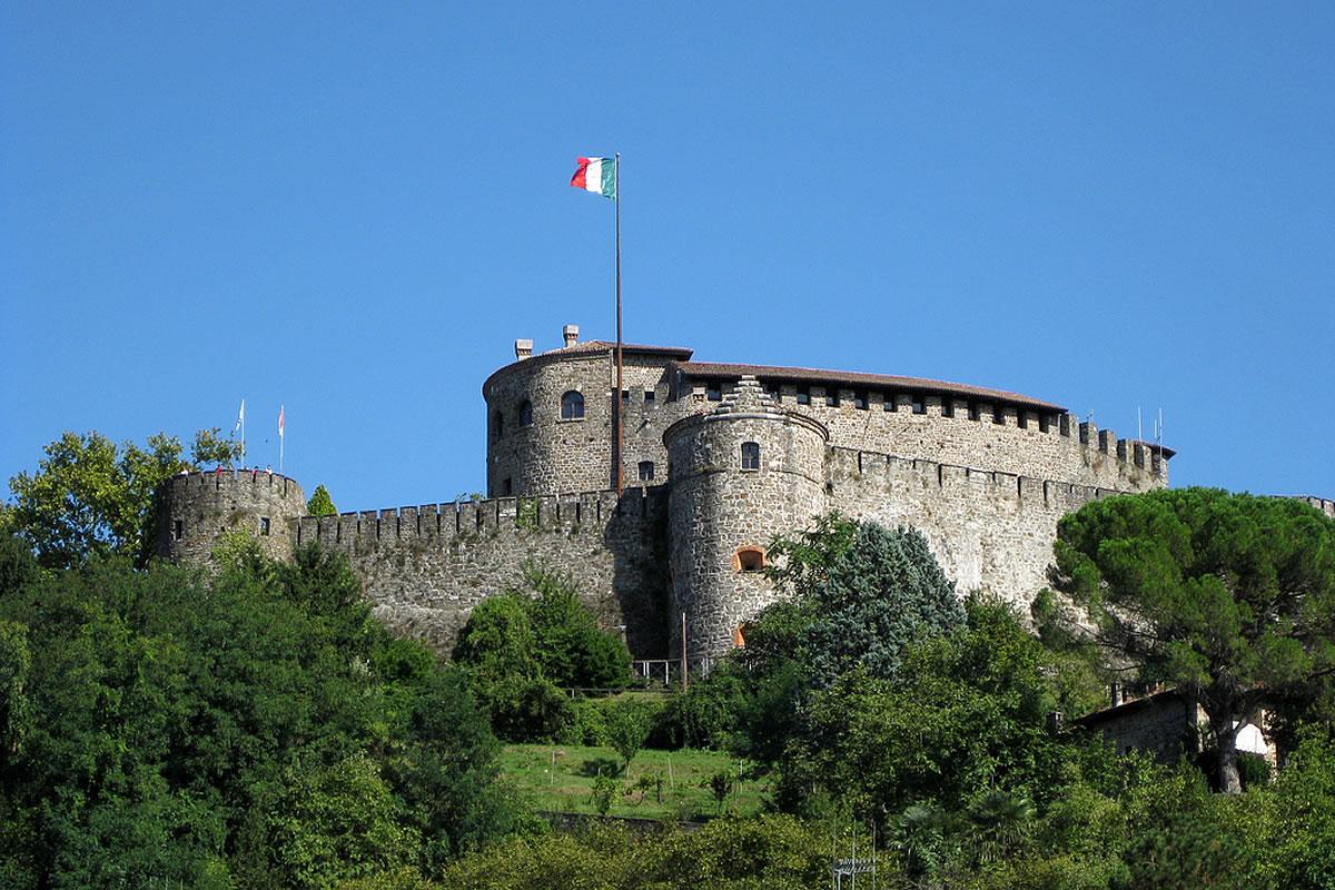 Gorizia vista del castello medievale