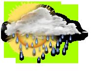 Variabile con pioggia