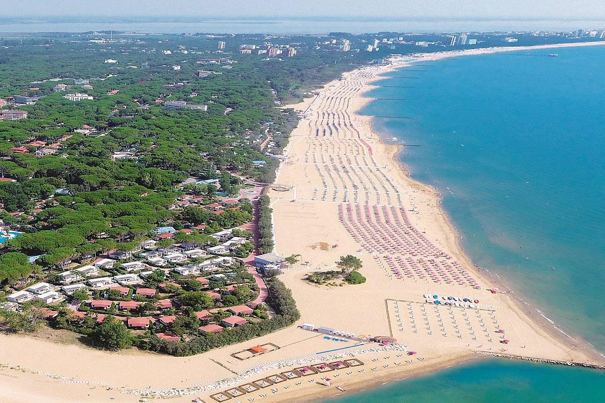 Spiaggia a Lignano Riviera
