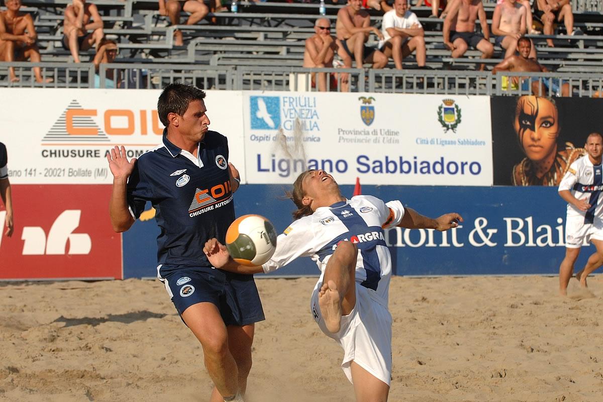 Campi da beach soccer
