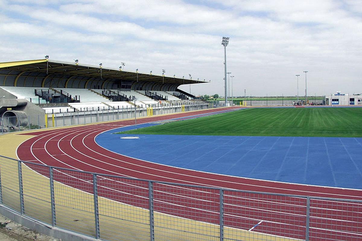 Campo sportivo di calcio a Lignano