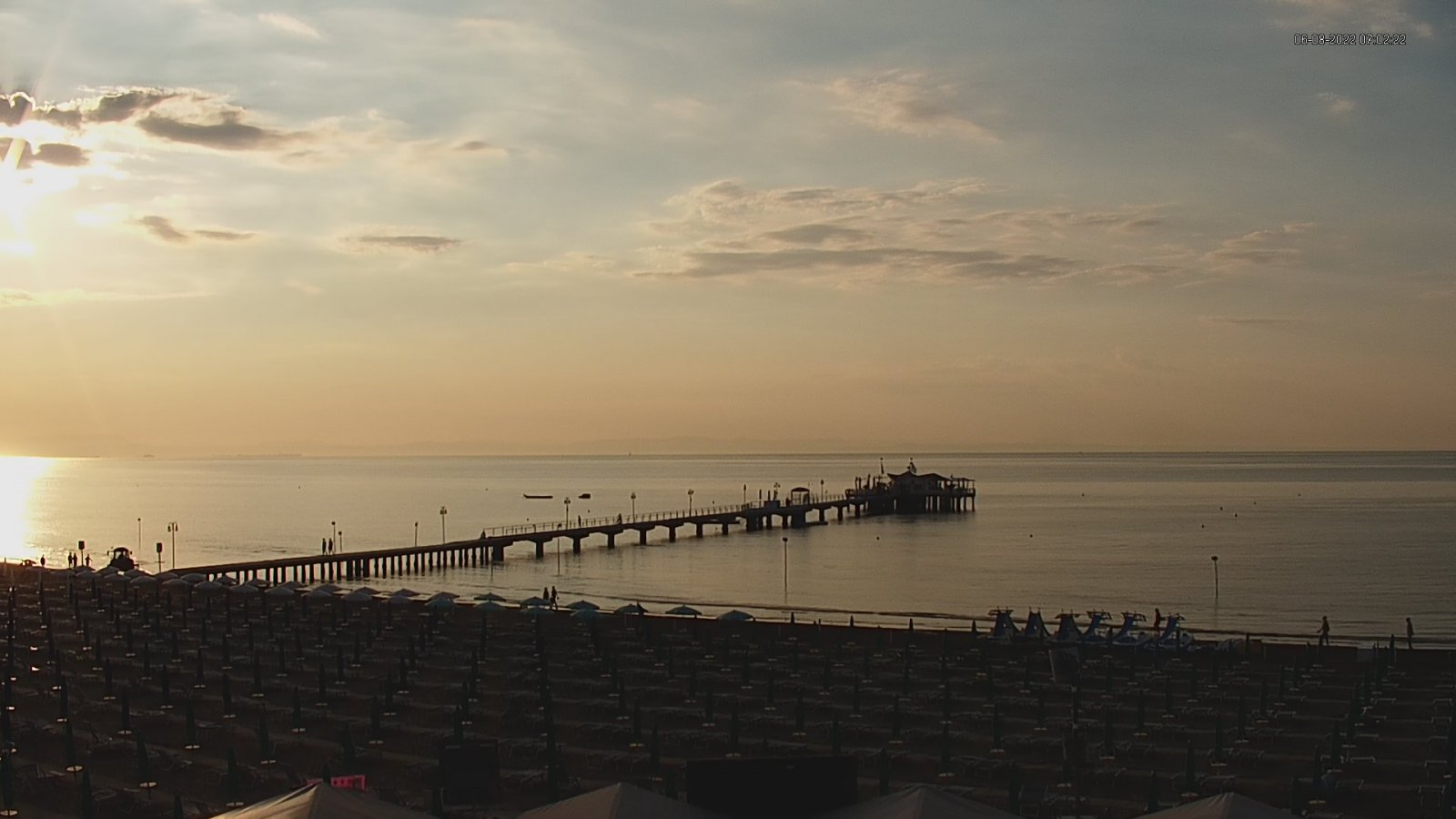 Webcam Mare Lignano Sabbiadoro - Webcam Meteo » ILMETEO.it