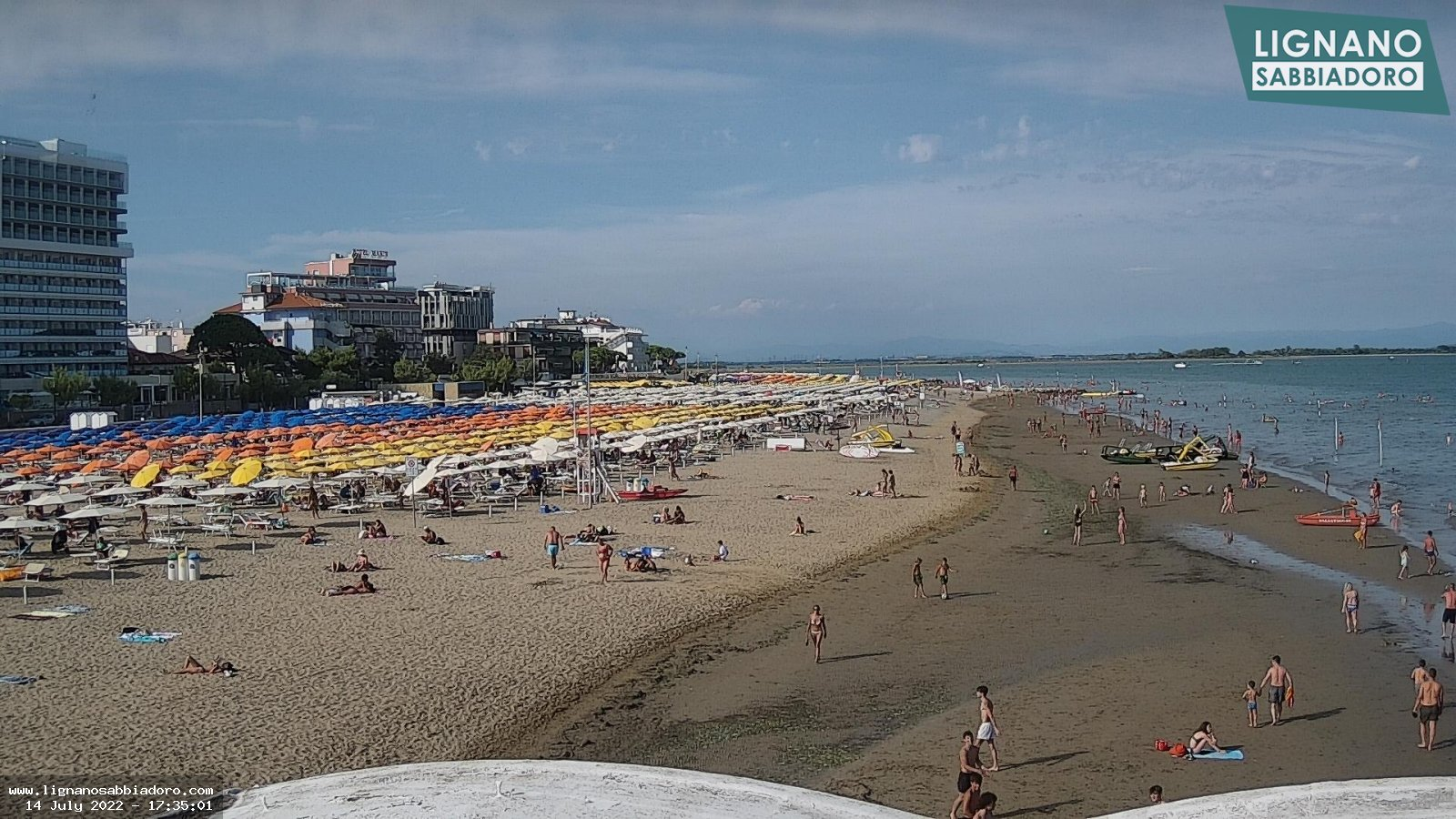 Beautiful Web Cam Lignano Sabbiadoro Terrazza A Mare Pictures ...