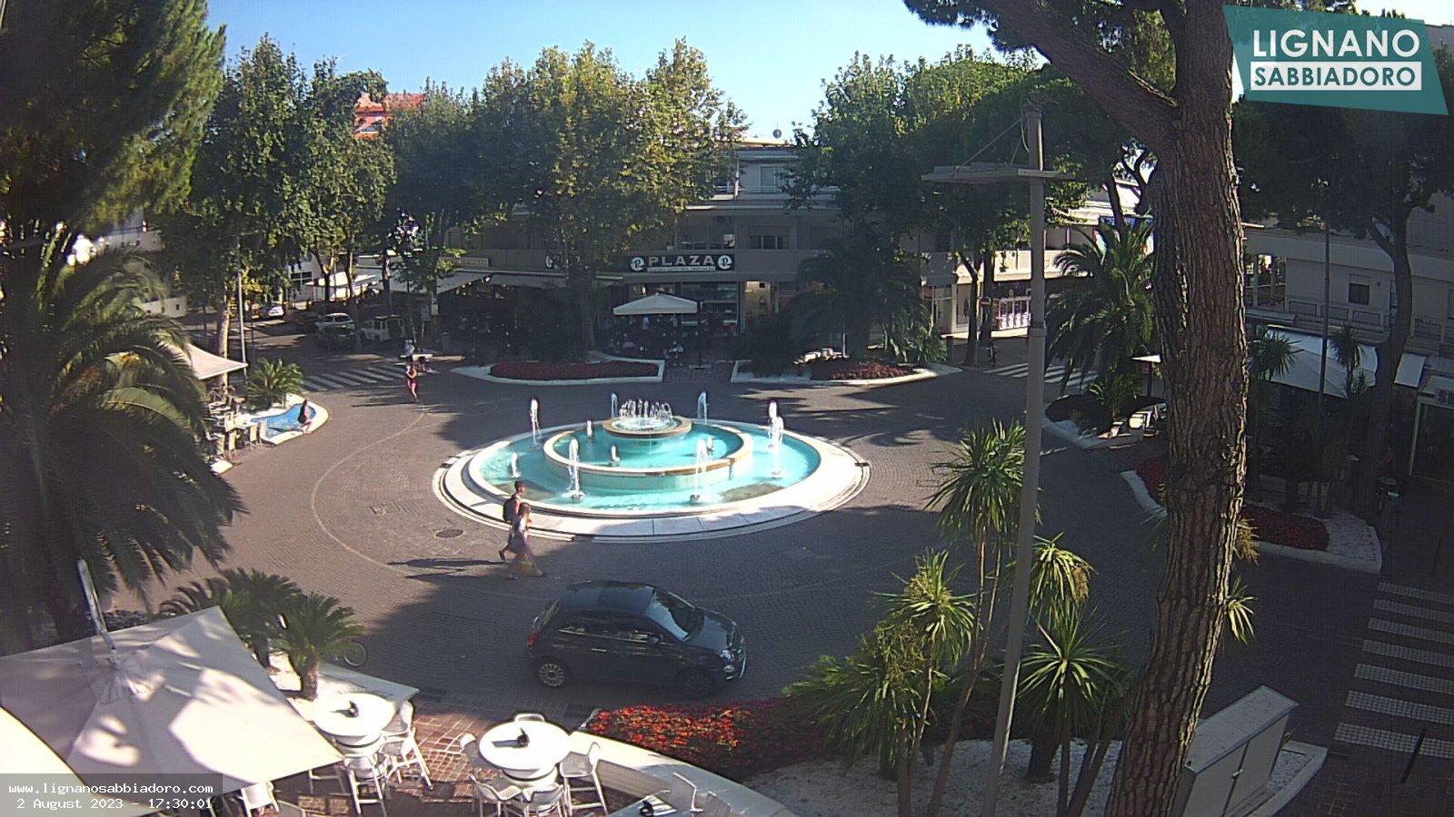 Webcam live streaming in centro