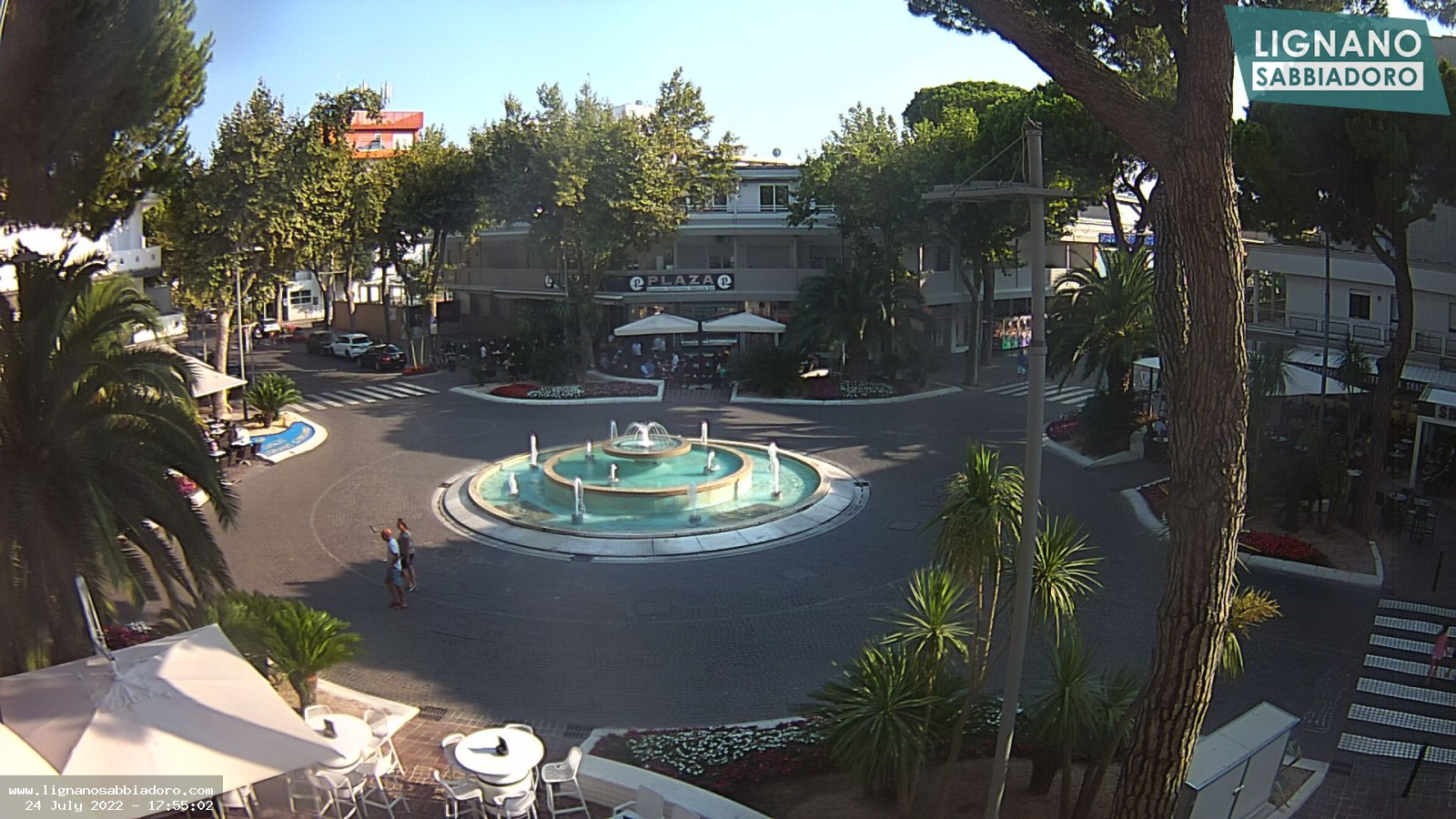 Webcam live streaming in centro