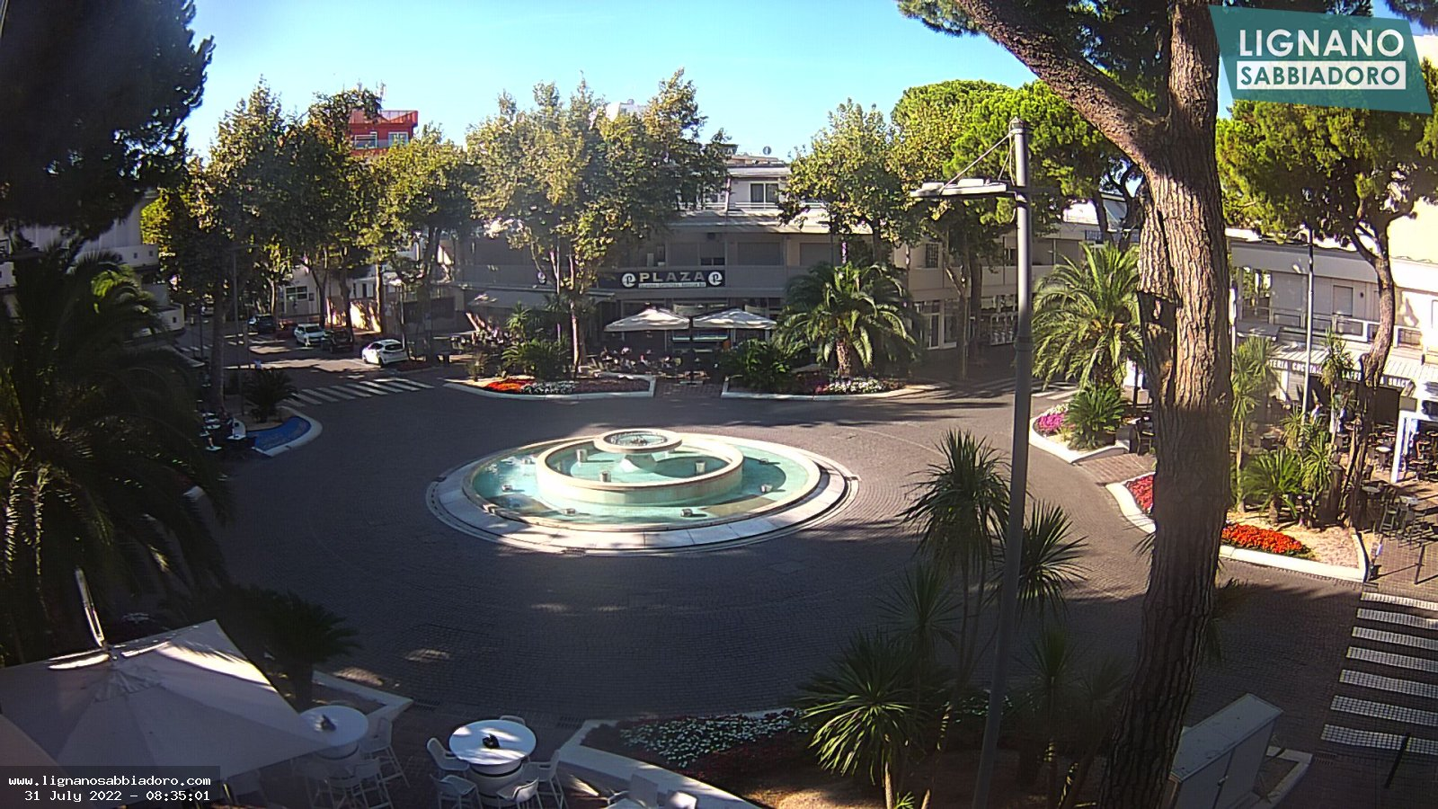 Webcam live streaming in the city centre