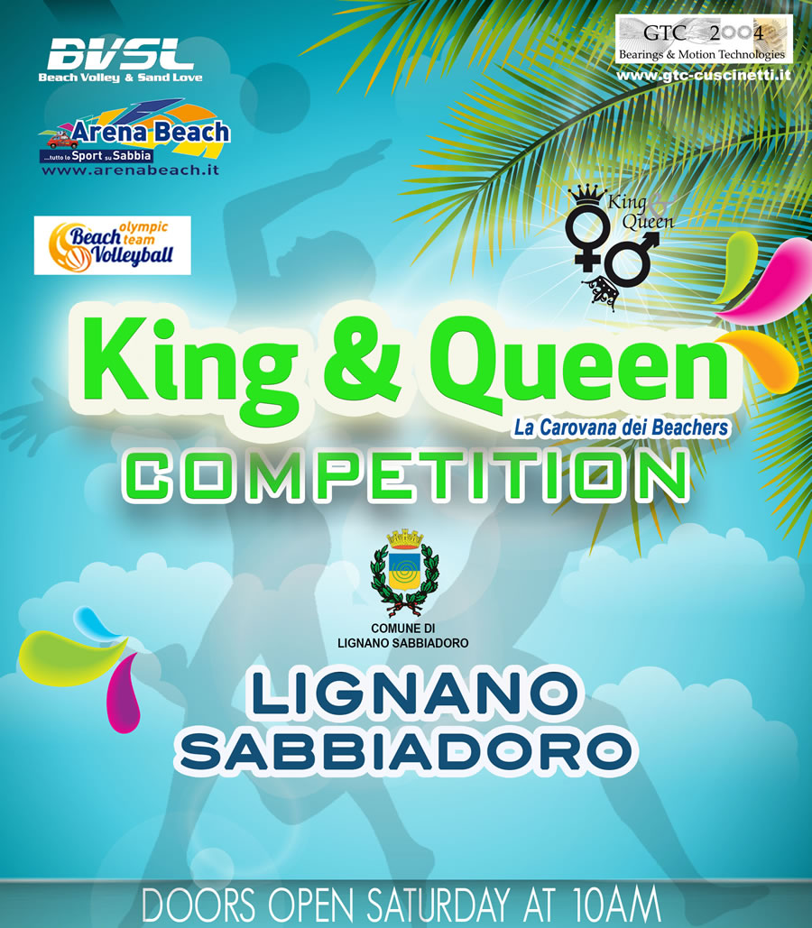 King e Queen beach volley Lignano