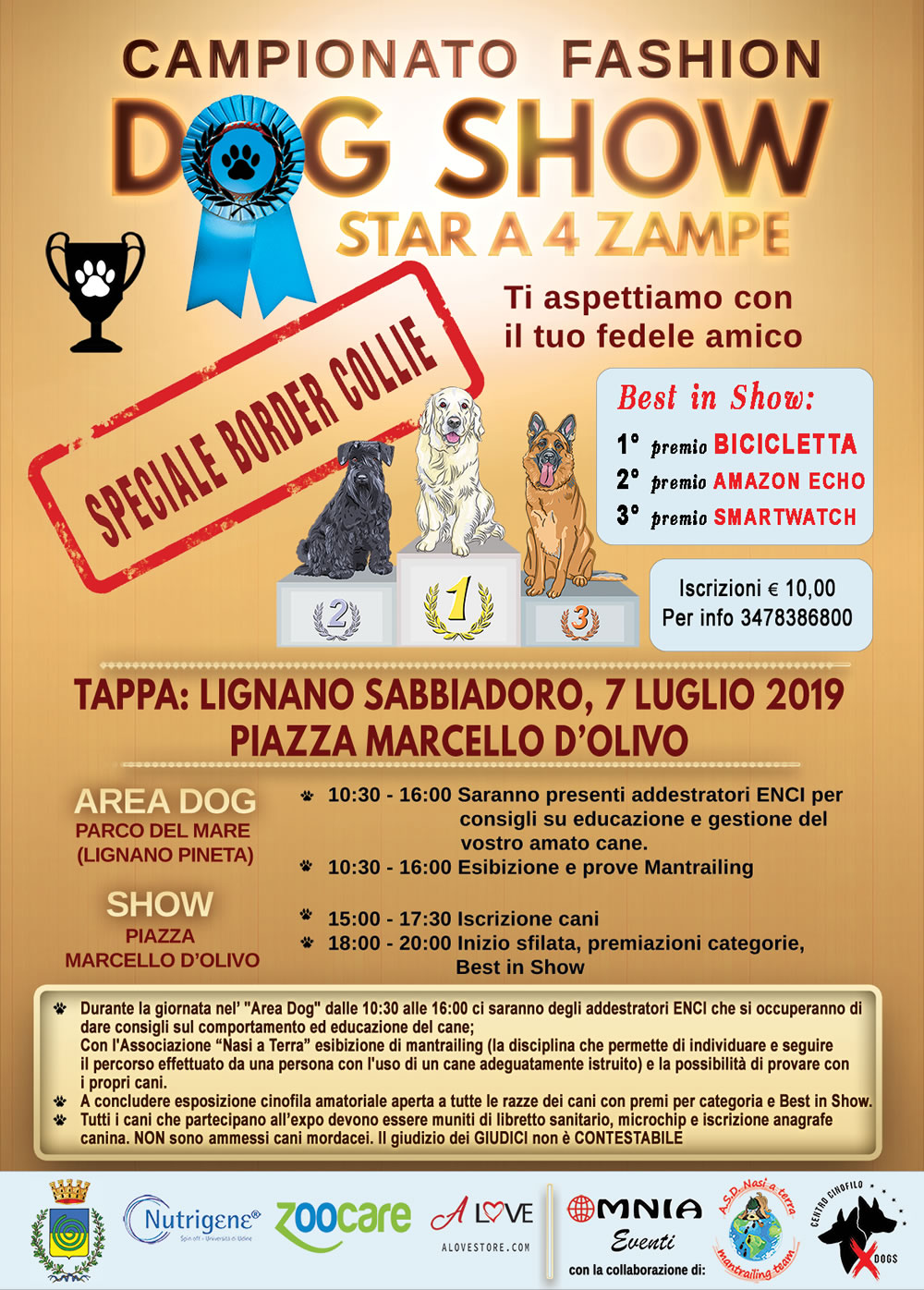 Fashion Dog Show Lignano